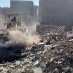 لليوم الثالث على التوالى.. إزالة 60 طن تراكمات وقمامة بمنطقة حى شرق بالأقصر