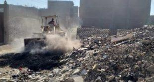 201902171019291929 310x165 - لليوم الثالث على التوالى.. إزالة 60 طن تراكمات وقمامة بمنطقة حى شرق بالأقصر
