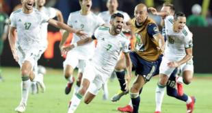 محرز يقود الجزائر للنهائي